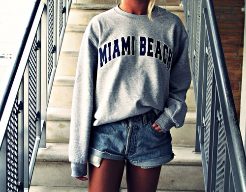 Le sweat-shirt