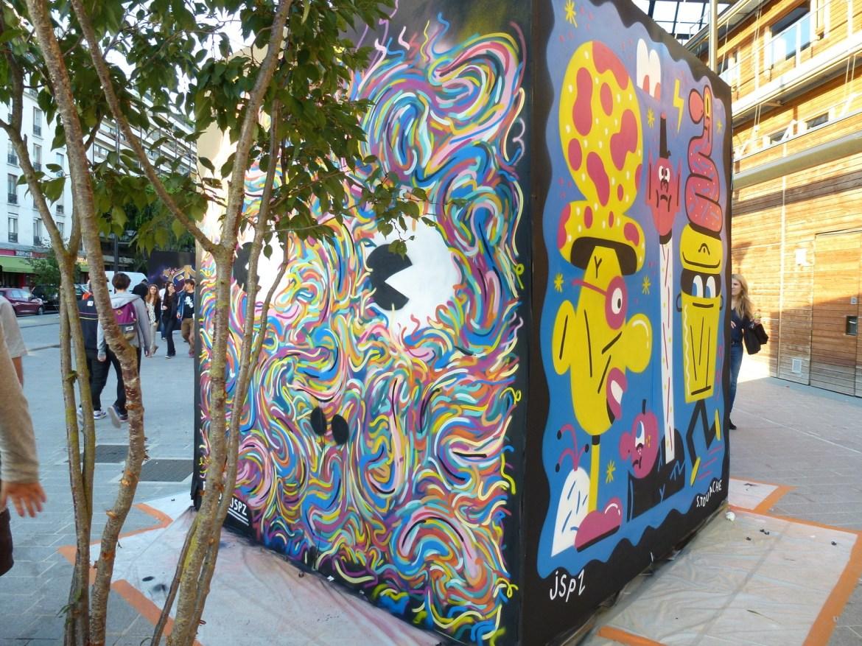 Street life à Paris : Festival du Tag