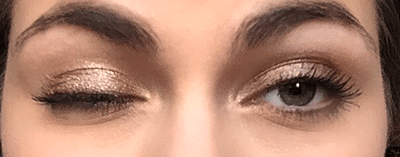 maquillage bronze tendance clemence 2