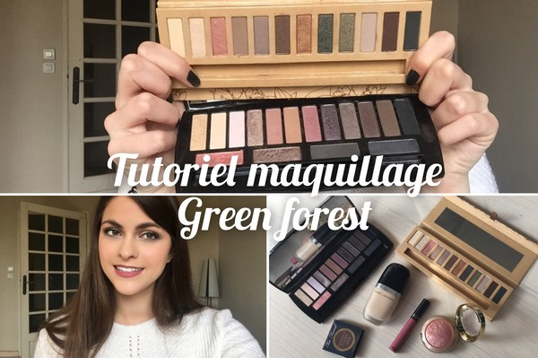 maquillage vert foret 7