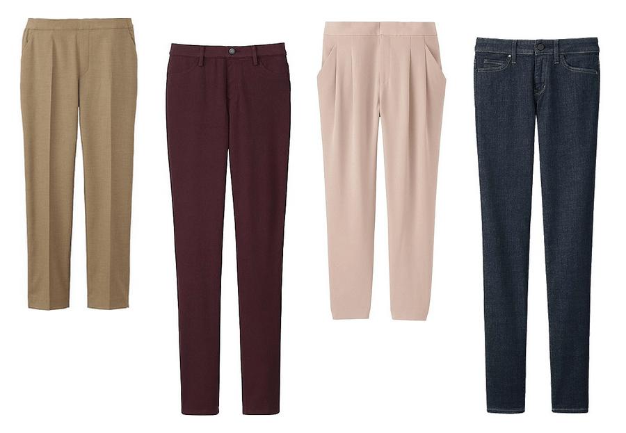 pantalons-uniqlo