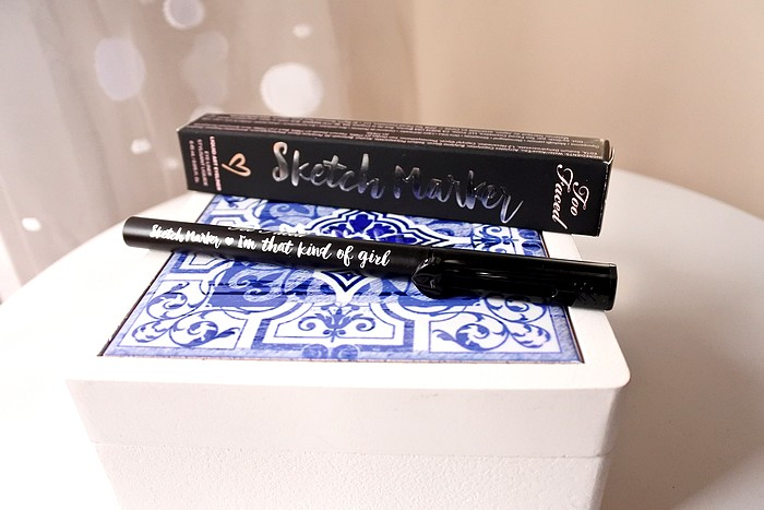 Sketch Marker eye liner feutre too faced 6
