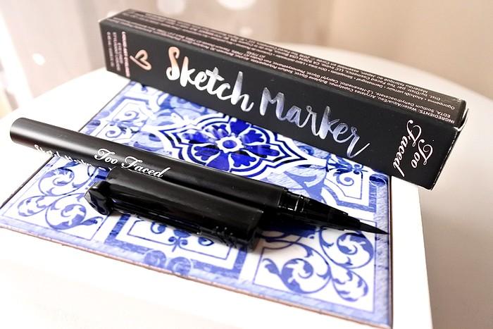 Sketch Marker eye liner feutre too faced 1