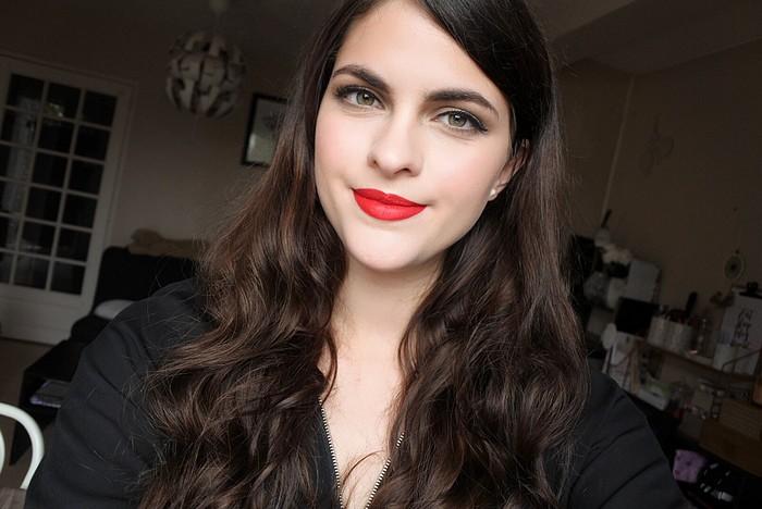 maquillage glamour st valentin