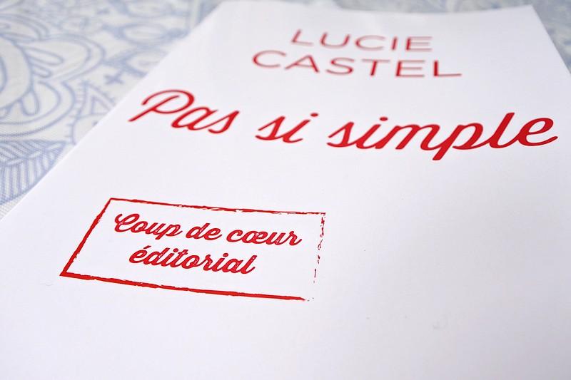 Pas si simple de Lucie Castel