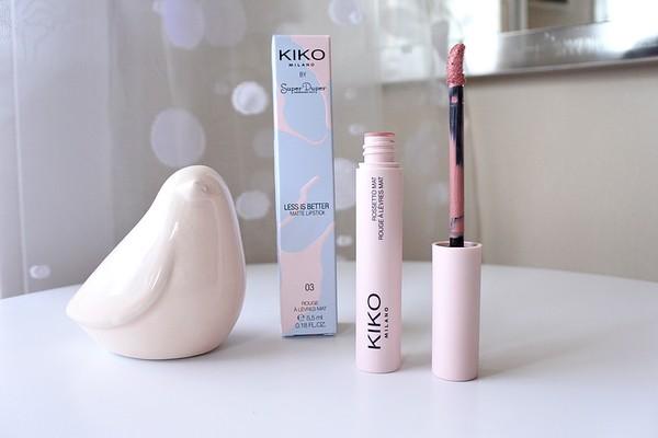 Calendrier De Lavent Kiko 2019.Less Is Better Matte Lipstick De Kiko Tendance Clemence