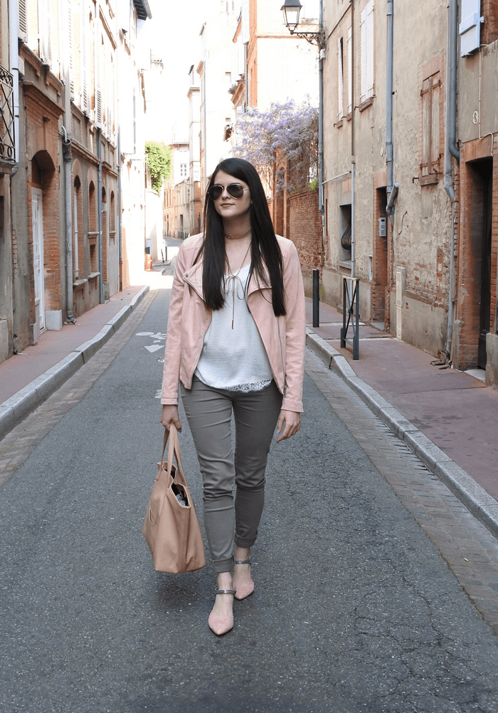 LOOK PERFECTO NUDE tendance clemence