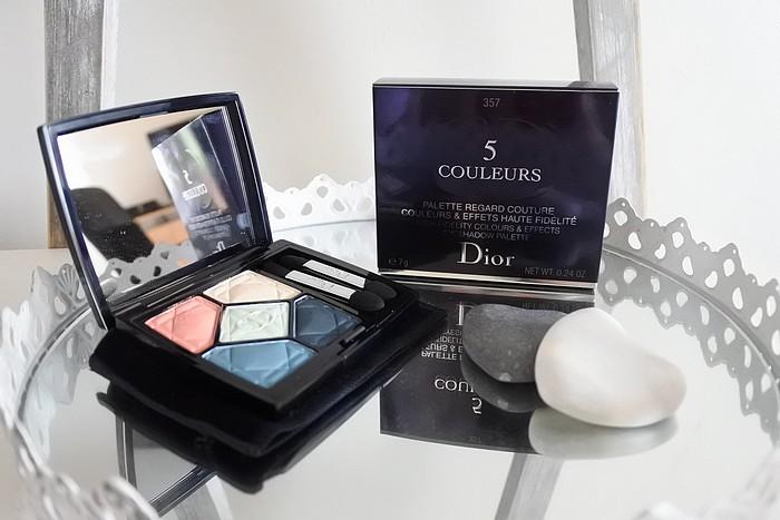 Palette Electrify Regard Couture de Dior tendance clémence blog beauté