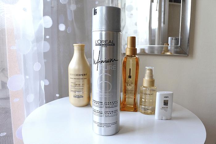 Routine Cheveux Absolut Repair L'Oréal Tendance clémence blog beauté