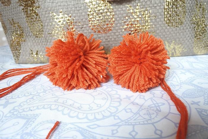 DIY • Pompon en laine facile tendance clémence