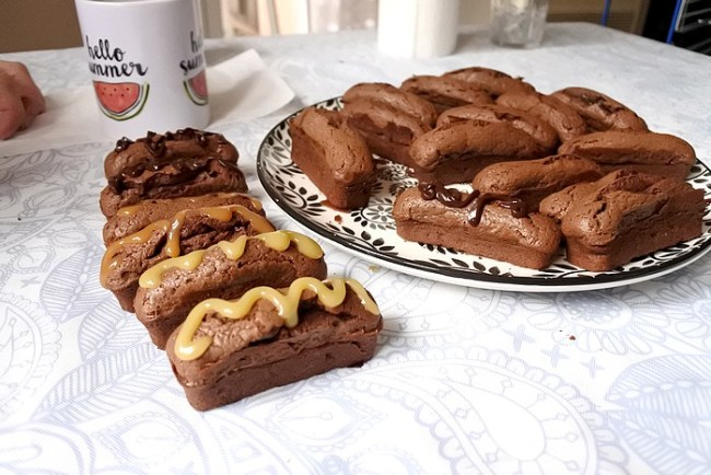 recette mini cake chocolat nappage
