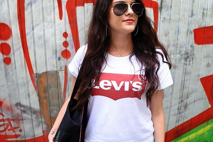Look Casual Levis tendance clémence blog