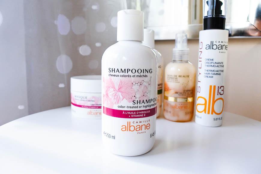 Shampoing cheveux colorés et méchés à l'huile d'Hibiscus et vitamine E