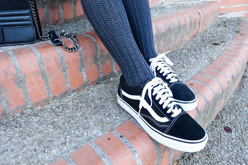 Look collants à motifs tendance clémence blog mode toulouse
