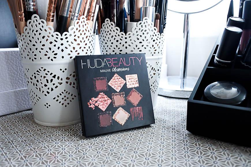 La palette Mauve Obsession d'Huda Beauty
