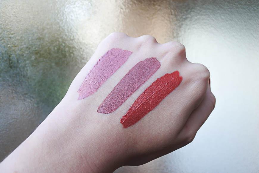 Les Longstay Matte Lipstick de Golden Rose