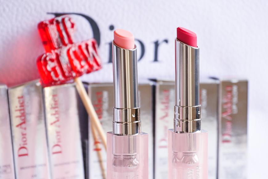 Dior Lip Glow et ses 10 nouvelles teintes