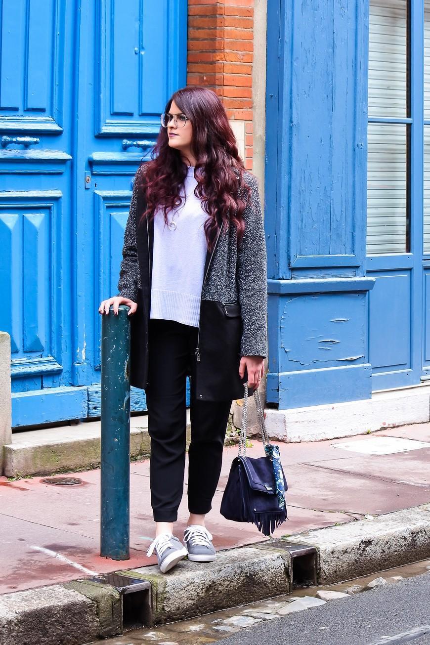 Look n°116 • Light blue & Glitter touch