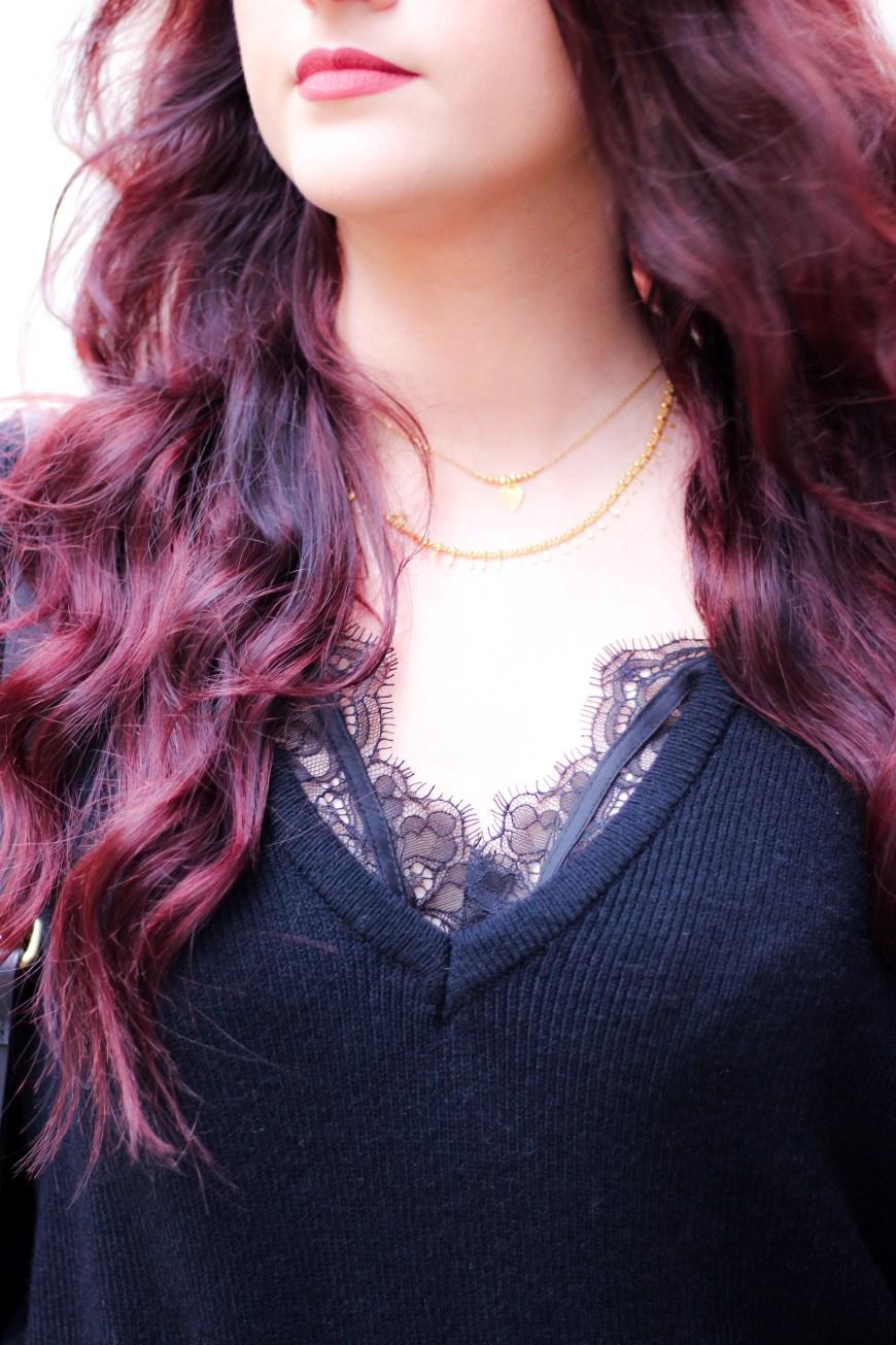 Look n° • Total look noir
