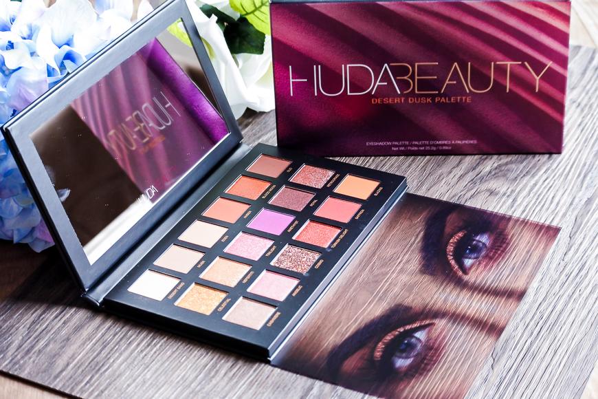 Desert Dusk : la palette riche en pigments de Huda Beauty