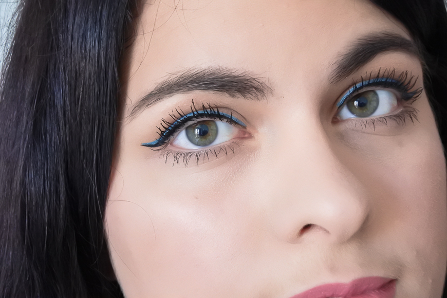 Tutoriel • 3 make-up bleus