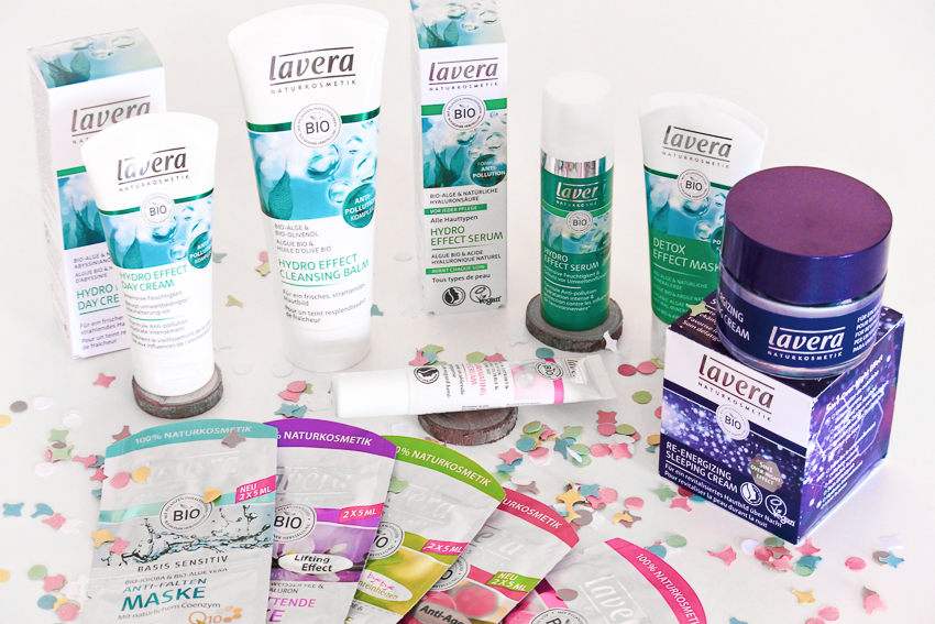 La gamme de soins anti-pollution de Lavera