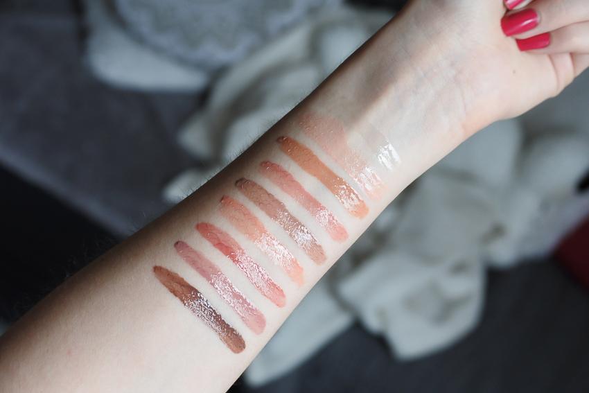 Les trois nouveaux finis des Lip Lingerie : Gloss, Shimmer et Glitter