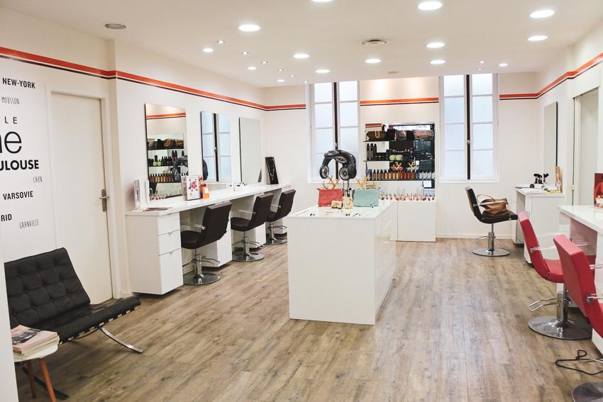 Bonne adresse • Le salon de coiffure Camille Albane Toulouse