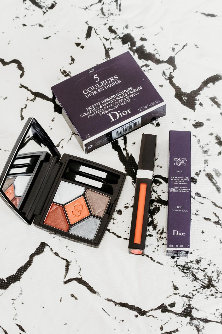 Collection make-up Dior en Diable   Fall 2018