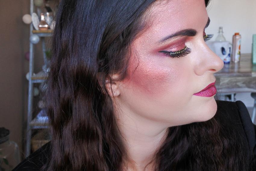 Maquillage d'Halloween • Cabaret Glamour