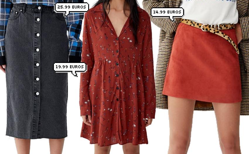 SÉLECTION SHOPPING • Jupes, robes et combi pour l'automne