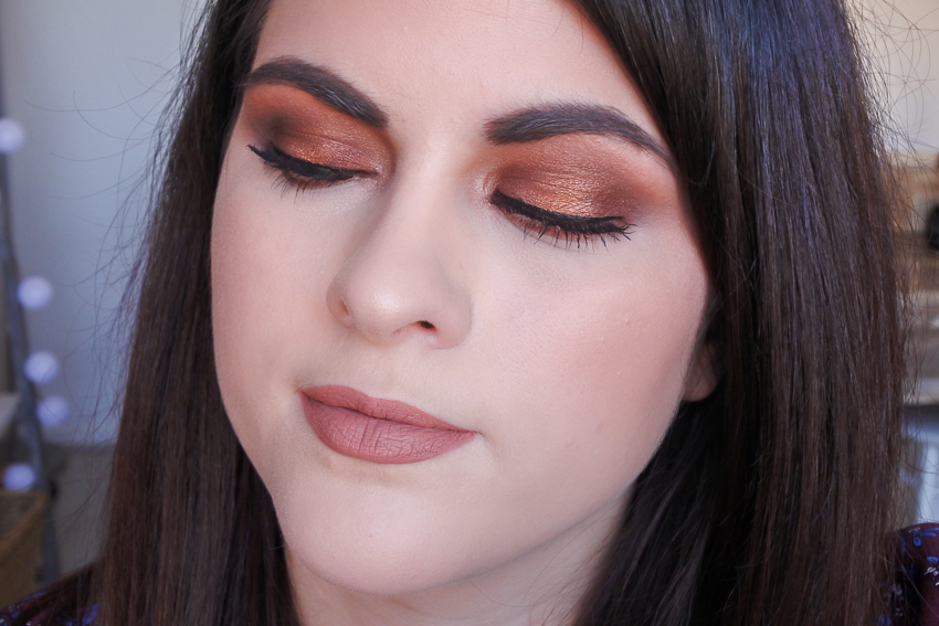 Tutoriel • Smoky eyes marron orangé