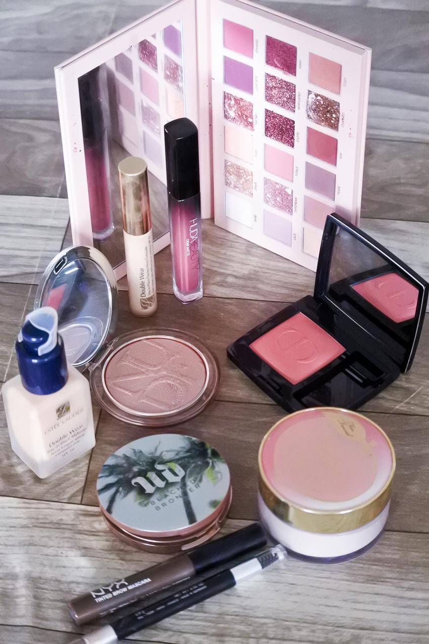 Tutoriel • Maquillage Champagne rosé avec la palette Huda Beauty