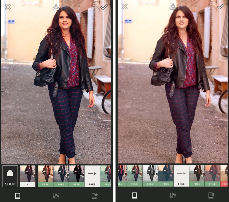 L'application Presco pour retoucher vos photos Instagram
