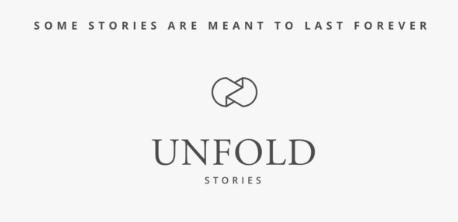 application unfold story instagram