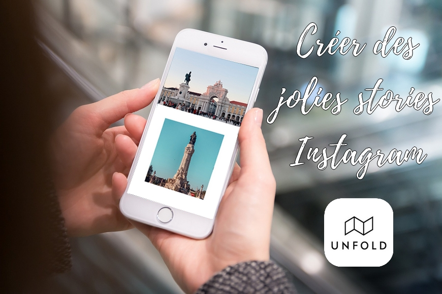 unfold application instagram