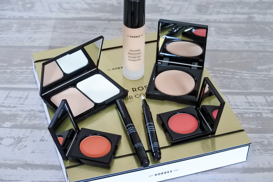 Maquillage Korres : collection Wild Rose