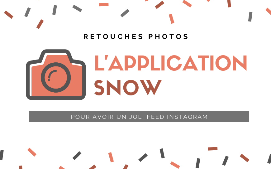 Des jolis filtres Instagram avec l'application Snow