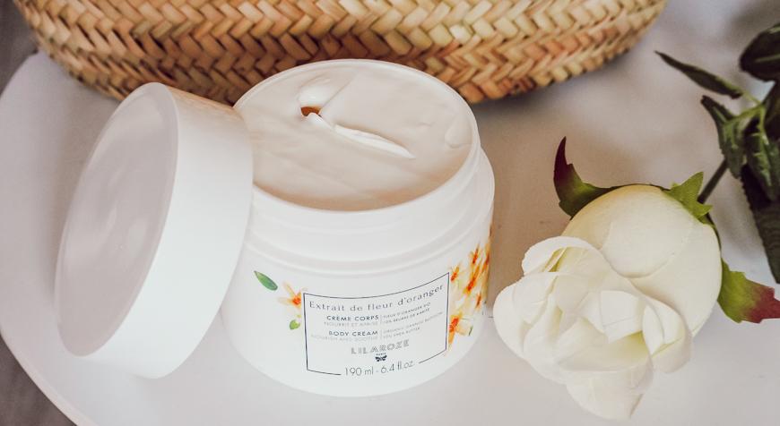 Les soins de cosmétique florale à la fleur d'Oranger de Lilaroze