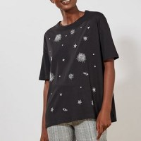 Tee shirt brodé 'constellation'