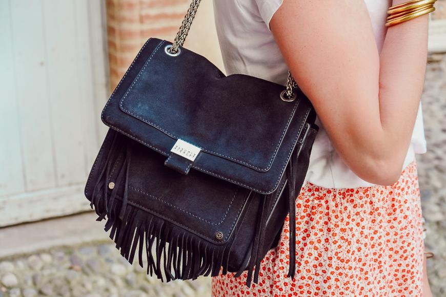 sac bleu marine