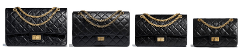 tailles sac 2.55 chanel