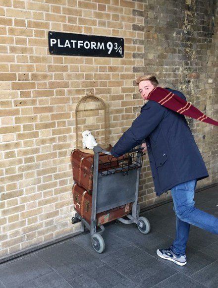 King's cross Harry potter