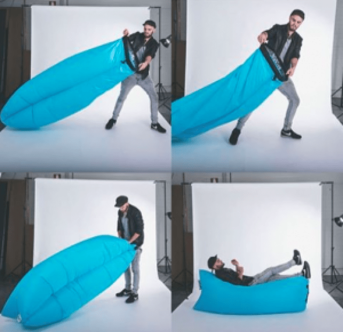 sofa transportable laybag