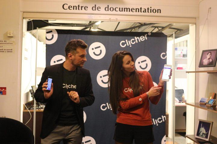 soirée inauguration Clicher Application