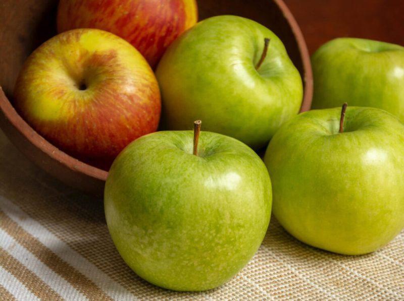 Mejores frutas para desayunar manzana