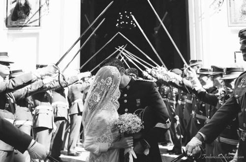 Una novia al estilo más tradicional español