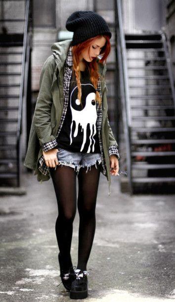 5 look de chica Hipster