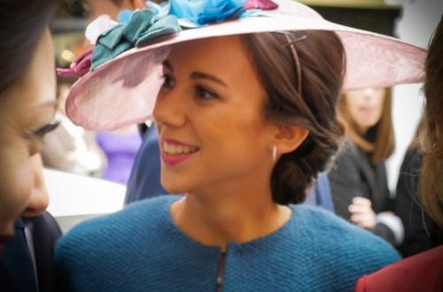 Una boda de pamelas y sombreros