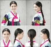 peinado coreana 1